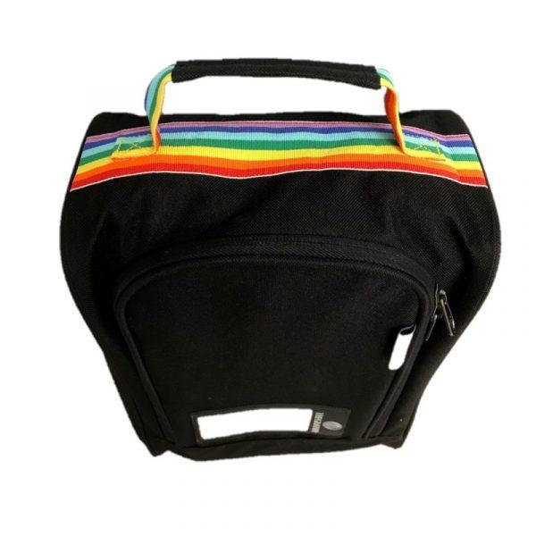 Skobag - Black/rainbow